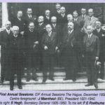 1928 IDF first ever Annual Session 1928